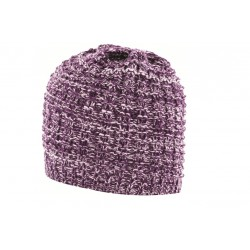 Highlander Womens Beanie Hat Purple