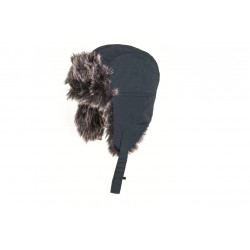 Highlander Faux Fur Winter Hat Teal