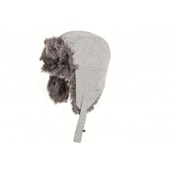 Highlander Faux Fur Winter Hat Cream