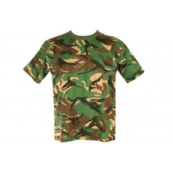 Kids Army Camouflage T-Shirt British DPM