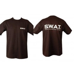 SWAT Double Print T-Shirt Black