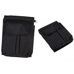 A6 Notepad Holder Black