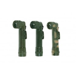 Kombat Mini Angle Torch Olive Green or Camo Military Army Style