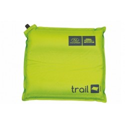 Highlander Trail Self Inflating Camping Pillow Lime Green