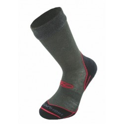 Highlander Coolmax Trekking / Hiking Sock Charcoal/Red