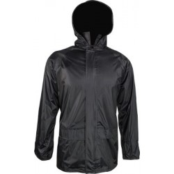 Highlander Waterproof Jacket Black