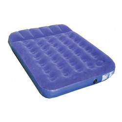 Highlander Double Flock Airbed Built in Pump