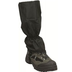 Highlander Black Waterproof Gaiter
