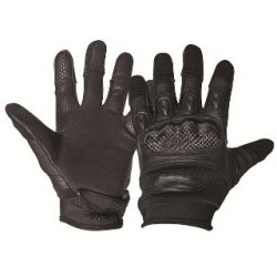 Highlander Leather Protective Gloves GL083 Black