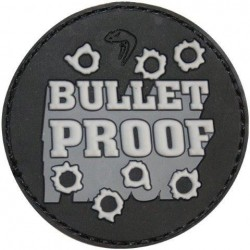 "Viper PVC ""Bulletproof"" Patch Morale Airsoft Military Forces Velcro"