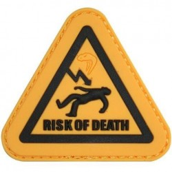 "Viper PVC ""Risk of Death"" Patch Morale Airsoft Military Forces Velcro"