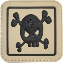 "Viper PVC ""Skull"" Patch Morale Airsoft Military Forces Velcro"