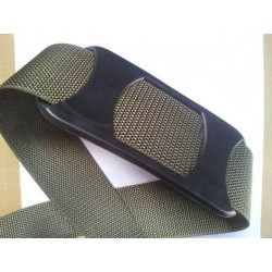 Replacement Black Plastic Shoulder Pad 50mm  Black Plastic Webbing  (SHP50))