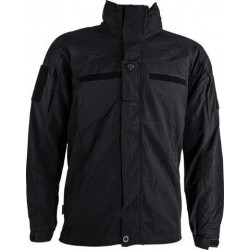 Highlander Lightweight Softshell Water Resistant Jacket Black
