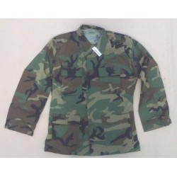 Genuine Surplus U.S. Woodland Camo BDU Shirt New