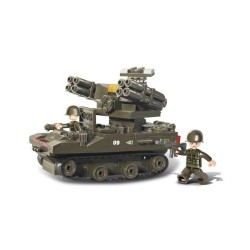 Sluban Rocket Launcher Tank Military Bricks B0283