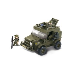 Sluban Army SUV Jeep Military Bricks B0299