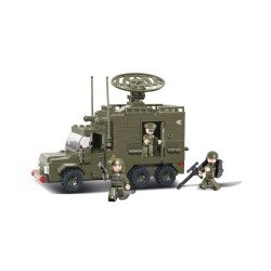 Sluban Army Radar Truck Car Military Bricks B0300