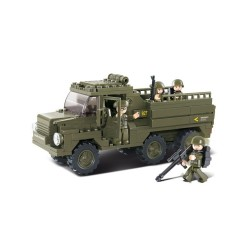 Sluban Army Troop Carrier Truck Lorry Military Bricks B0301