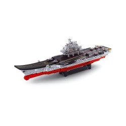 Sluban Naval Aircraft Carrier Military Bricks B0388