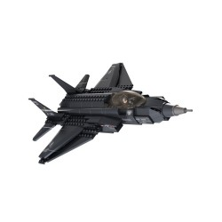 Sluban Airforce Lightning II Fighter Plane Military Bricks B0510