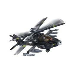 Sluban Airforce Apache Attack Helicopter Military Bricks B0511