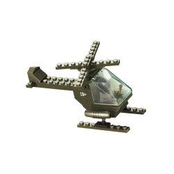 Sluban Army Battle Copter Helicopter Military Bricks B5700