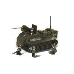 Sluban Army Amphibious Tank Military Bricks B6300