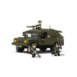 Sluban Army SUV Humvee Vehicle Military Bricks B9900