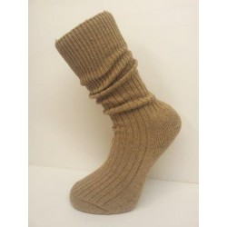 Highlander Small Size Forces Wool Rich Cushioned Sole Sock Beige