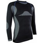 Highlander Thermotech Mens Baselayer Long Sleeve Top Wicking Vest Base (BL121)