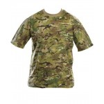 Kombat BTP Camo T-Shirt Cotton, Short Sleeve Multicam Style Adult
