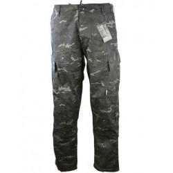 Kombat ACU Style Assault Trousers BTP Black