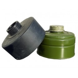 Genuine Surplus Mixed Gas Mask Filters Used