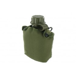 Highlander Plastic Water Bottle Olive