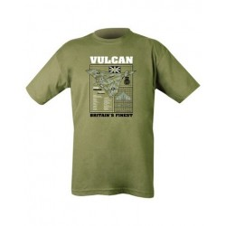 Kombat Vulcan British Bomber T-Shirt Olive Soldier Forces Military Airsoft