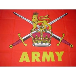 British Army Printed Polyester Flag 5'x3'