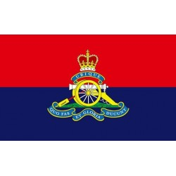 Royal Artillery Printed Polyester Flag 5'x3'