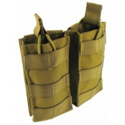 Highlander Double Quick Release Mag Pouch Coyote Tan
