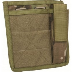 Highlander Commanders Admin Panel MOLLE Multicam MTP