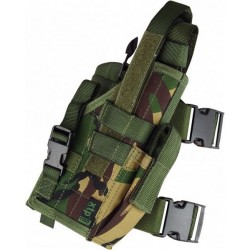 Highlander Drop Leg Pistol Holster Right Handed DPM Camo