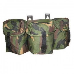 Highlander Triple Utility Pouch DPM Spanish Clips Camouflage