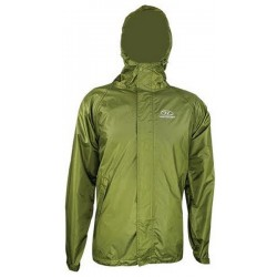Highlander Lowlander Packaway Waterproof Jacket Olive