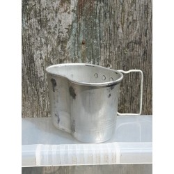 Genuine Surplus French Aluminium Mug Grade 1