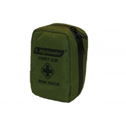 Highlander Mini First Aid Kit Military Green