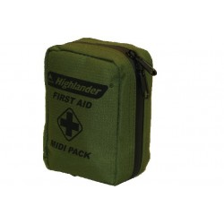 HIghlander Midi First Aid Kit Military Olive Green