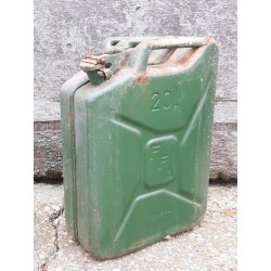 Genuine Surplus NATO Metal 20 Litre Jerry Cans Used