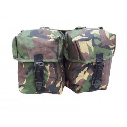 Highlander Pro-Force PLCE Double Utility Pouch DPM Webbing Quick Release Buckles