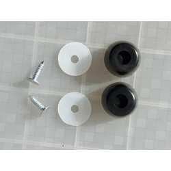 Luggage Feet Rucksack Feet Plastic Round Replacement Bobbles Luggage (LP)