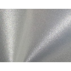 Reflective Fabric Safety Fabric Grey Night Time Fabric – Cut to Size 25cm x 50cm (RS1)